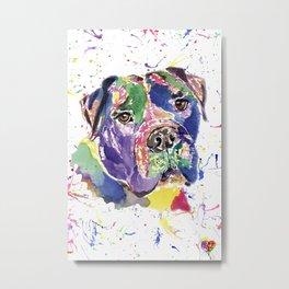 Bull Mastiff Metal Print