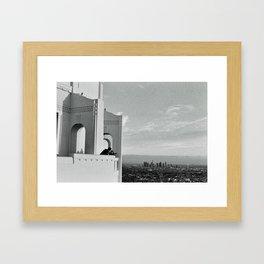 Griffith Observatory 35mm Framed Art Print