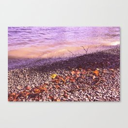 Lake Windermere Shore, The Lake District - Nature Photography Canvas Print