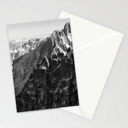 French Alps, Chamonix, France. (2) Stationery Cards