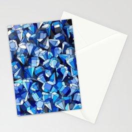 Fond Bleu Stationery Cards