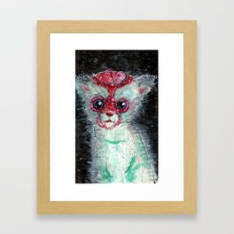 Kitty Popped Framed Art Print