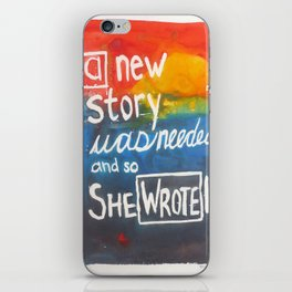 New Story iPhone Skin