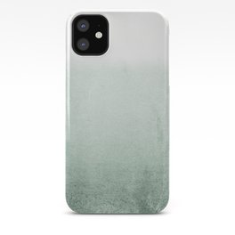 FADING GREEN EUCALYPTUS iPhone Case