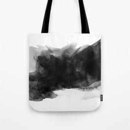 black ink splash Tote Bag