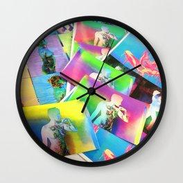 Nacho Dung Sticker photo Wall Clock