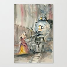 Mistress of the Train Canvas Print
