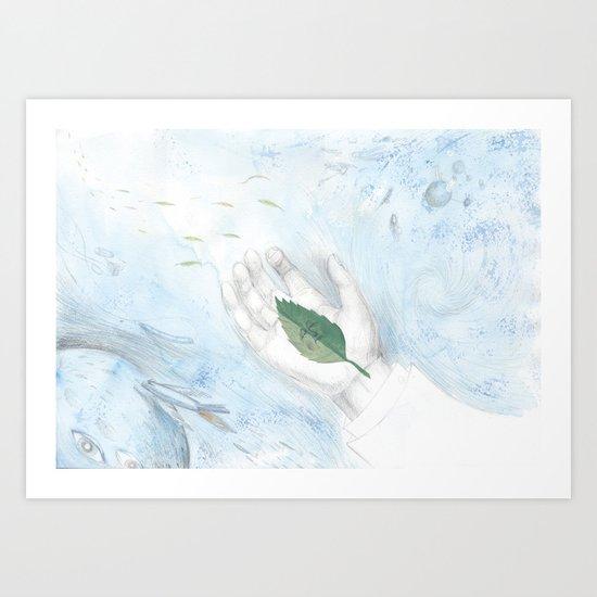 received Art Print
