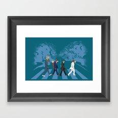 Adirondack Road Framed Art Print