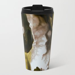 Alien embryo, acrylic on canvas Travel Mug