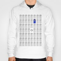 tardis Hoodies featuring Tardis by Megan Twisted