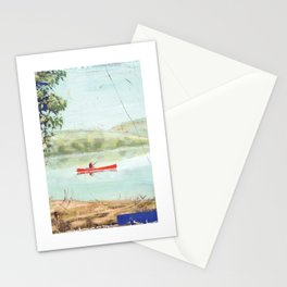 fishing - by phil art guy Stationery Cards