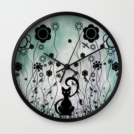 Hangin Out Wall Clock
