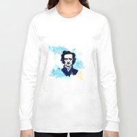 poe Long Sleeve T-shirts featuring POE by Jon Cain