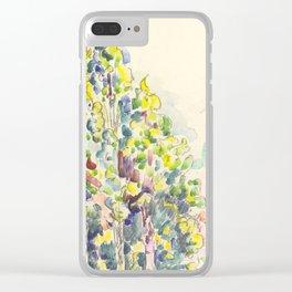 "Paul Signac ""Saint-Paul-de-Vence"" Clear iPhone Case"