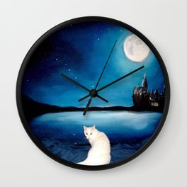 Tyche magical kitty Wall Clock