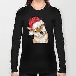 Christmas Shiba Inu Long Sleeve T-shirt