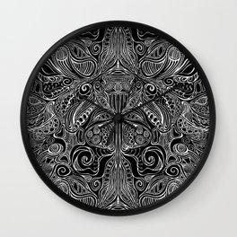 Subconscious Garden - Reverse Wall Clock