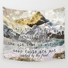 All That Is Gold Wall Tapestry