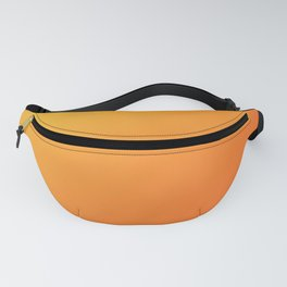 Yellow and Orange Gradient Fanny Pack