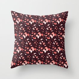 Mauvey Throw Pillow