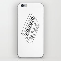My Girlfriend Plays Synth iPhone & iPod Skin