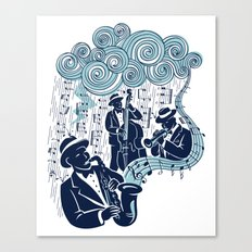 Got the Blues Canvas Print
