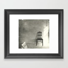 chair series no.3 Framed Art Print