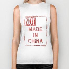 NOT MADE IN CHINA Biker Tank