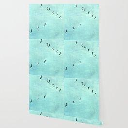 GEESE FLYING Wallpaper