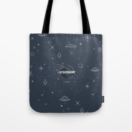 #Visionary Tote Bag