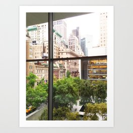 143. Room with view, New York Art Print