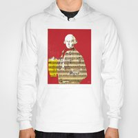 mozart Hoodies featuring Wolfgang Amadeus Mozart by Marko Köppe
