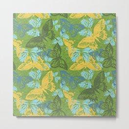 Cool Butterflies Metal Print