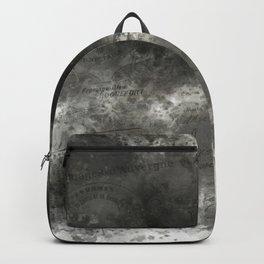 Black grey batic look Backpack