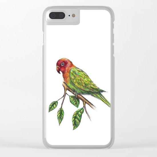 Parrot Hanssel Clear iPhone Case