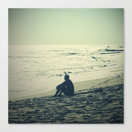 Surf Reflect Canvas Print
