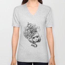 Sketchy Tee - Eliza Unisex V-Neck