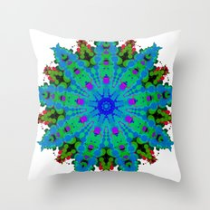 Fiore Celeste ALAD NAM Throw Pillow