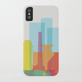 Shapes of Tel Aviv iPhone Case