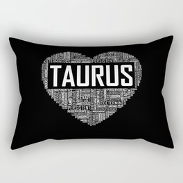 Taurus - Heart Rectangular Pillow