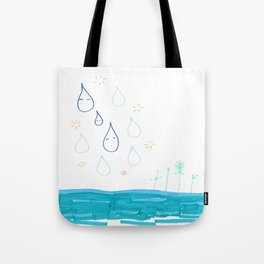 Soft Fall Tote Bag