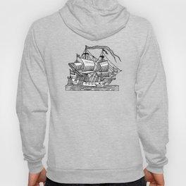 Ship Barco Bateau Schiff лодка Hoody