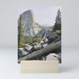 Liberty Cap and Nevada Falls in Morning Light Mini Art Print
