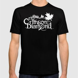 The Crimson Diamond monochromatic logo T-shirt