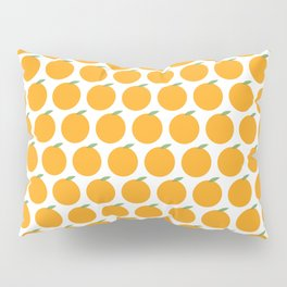 Syracuse, New York Orange Pillow Sham