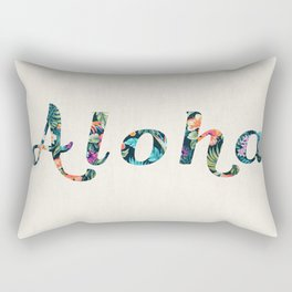 Aloha! Rectangular Pillow