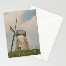 A mill in rural The Netherlands Stationery Cards