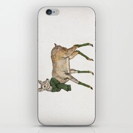 Winter Deer iPhone Skin