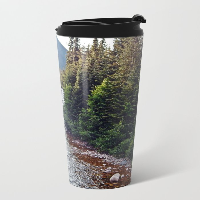 Forest Paradise Metal Travel Mug